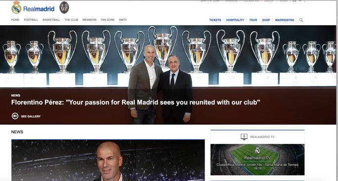 Sốc: Zidane trở lại, giải cứu con tàu đắm Real Madrid - Ảnh 1.