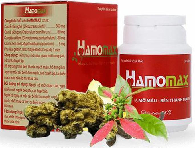 Cẩn trọng với quảng cáo thực phẩm bảo vệ sức khỏe Hamomax - Ảnh 1.