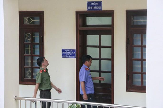 Sau vụ gian lận điểm thi, tất cả thí sinh Hòa Bình trúng tuyển trường công an đã nhập học - Ảnh 1.