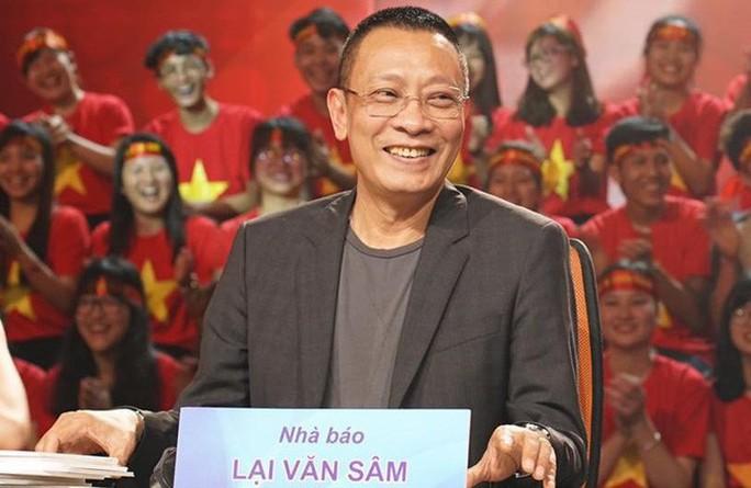 MC Lại Văn Sâm hào hứng khi hội ngộ loạt sao tại Gala Sao mai - Ảnh 1.
