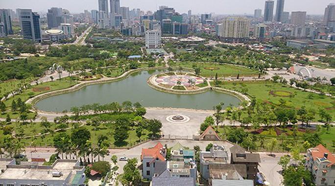Hà Nội muốn xén hơn 1/10 diện tích công viên Cầu Giấy để làm bãi đỗ xe, trung tâm thương mại - Ảnh 1.