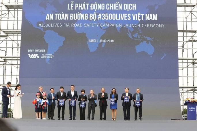 Phát động chiến dịch An toàn giao thông #3500 sinh mạng - Ảnh 1.
