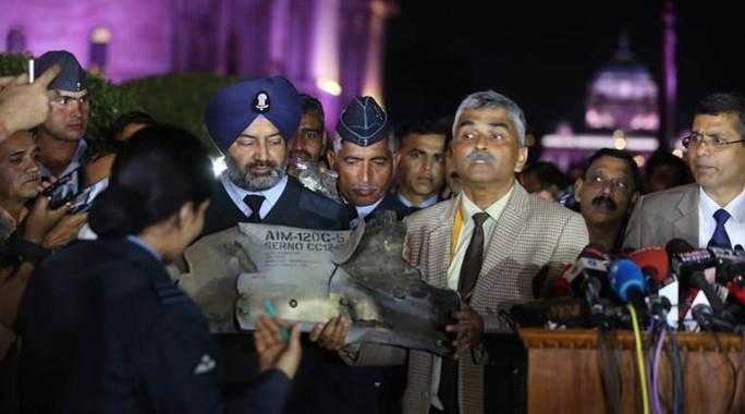 Ấn Độ tung bằng chứng Pakistan dùng F-16 của Mỹ để không kích - Ảnh 1.