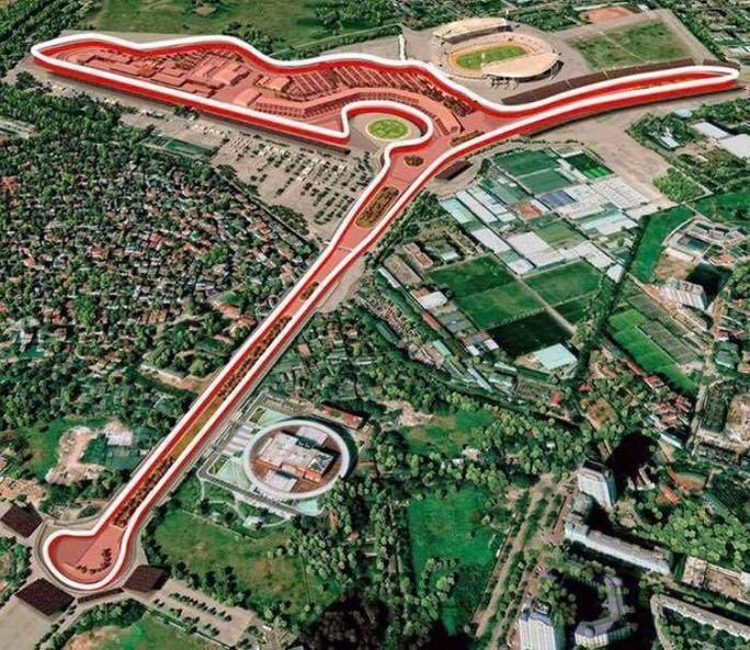 Độc đáo đường đua F1 Hà Nội - Ảnh 1.