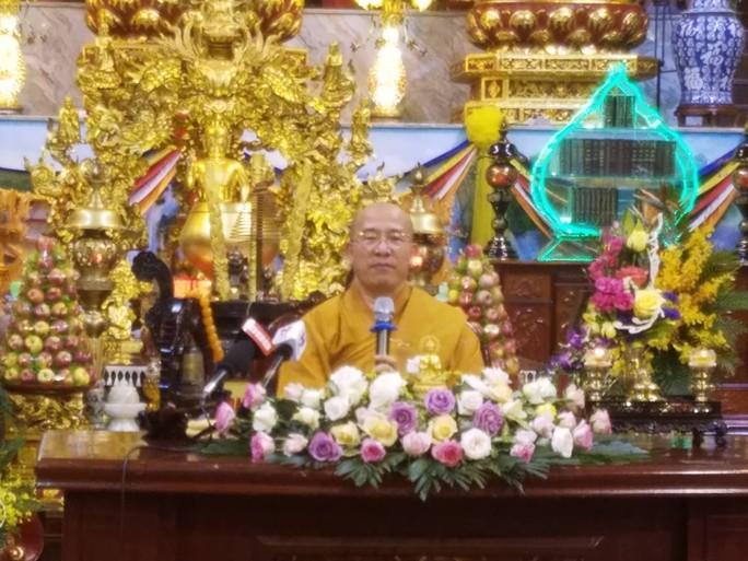 Trụ trì chùa Ba Vàng: Chùa chúng ta lớn vì vậy có những kẻ ghen ghét, đố kỵ - Ảnh 1.