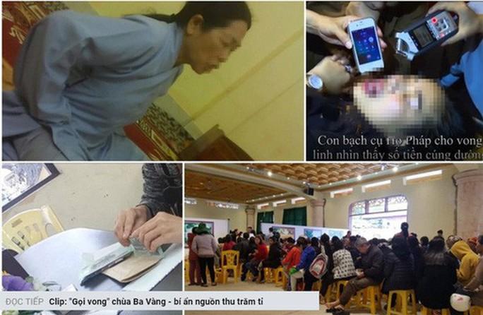 Bộ trưởng Nguyễn Ngọc Thiện yêu cầu làm rõ thông tin  chùa Ba Vàng tổ chức gọi vong, báo oán - Ảnh 1.