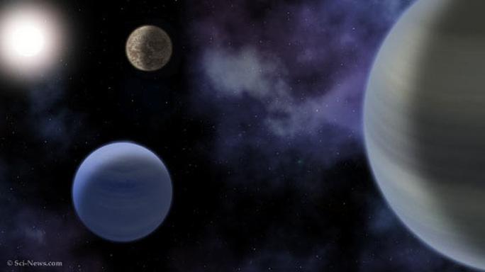 Phát hiện hệ mặt trời lạ có hành tinh thuộc vùng sự sống - Ảnh 1.