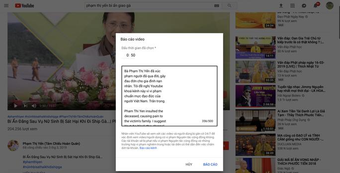 Vụ chùa Ba Vàng: Cộng đồng mạng kêu gọi Youtube khóa kênh Phạm Thị Yến - Ảnh 4.
