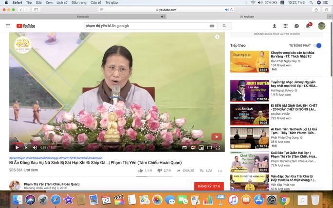 Vụ chùa Ba Vàng: Cộng đồng mạng kêu gọi Youtube khóa kênh Phạm Thị Yến - Ảnh 2.