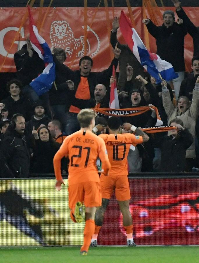Cố nhân Man United tỏa sáng, Hà Lan thắng tưng bừng vòng loại EURO - Ảnh 3.