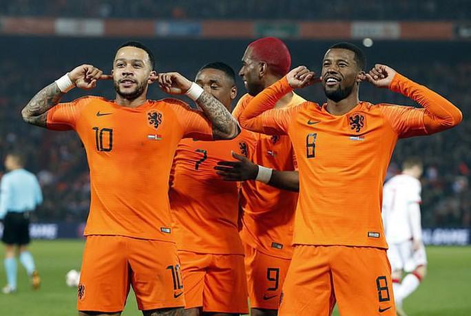 Cố nhân Man United tỏa sáng, Hà Lan thắng tưng bừng vòng loại EURO - Ảnh 4.