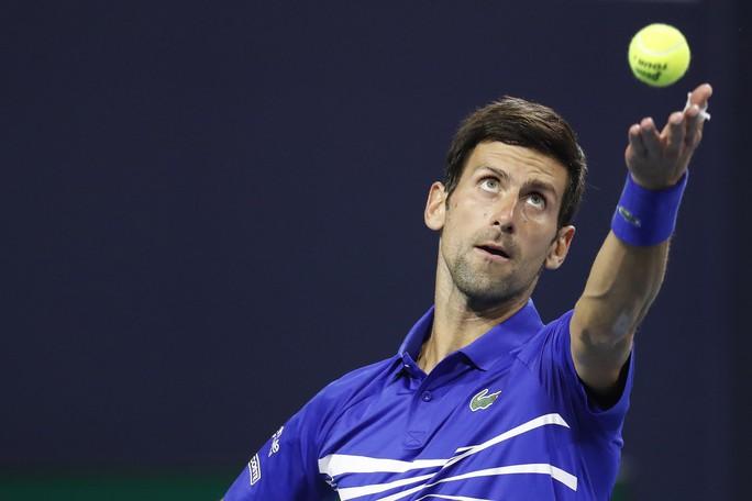 Djokovic thắng trận ra quân, bắt đầu chinh phục danh hiệu thứ 7 Miami Open - Ảnh 2.
