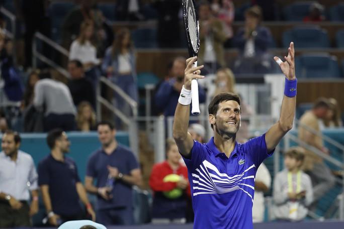 Djokovic thắng trận ra quân, bắt đầu chinh phục danh hiệu thứ 7 Miami Open - Ảnh 4.