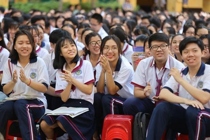 Chương trình Đưa trường học đến thí sinh 2019: Giải tỏa nỗi lo nghề nghiệp - Ảnh 1.