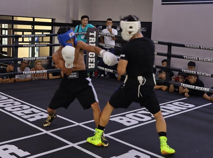 Trần Văn Thảo tự tin trước trận tranh đai vô địch thế giới WBF - Ảnh 1.