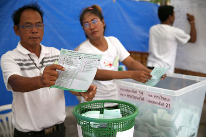 Cuộc tổng tuyển cử được mong đợi ở Thái Lan - Ảnh 2.