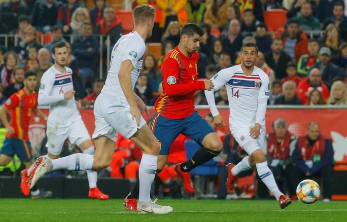 Morata thiếu duyên ghi bàn, Tây Ban Nha suýt trắng tay trước Na Uy - Ảnh 2.