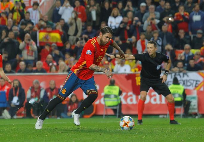 Morata thiếu duyên ghi bàn, Tây Ban Nha suýt trắng tay trước Na Uy - Ảnh 4.