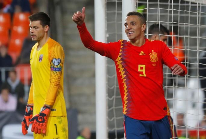 Morata thiếu duyên ghi bàn, Tây Ban Nha suýt trắng tay trước Na Uy - Ảnh 3.