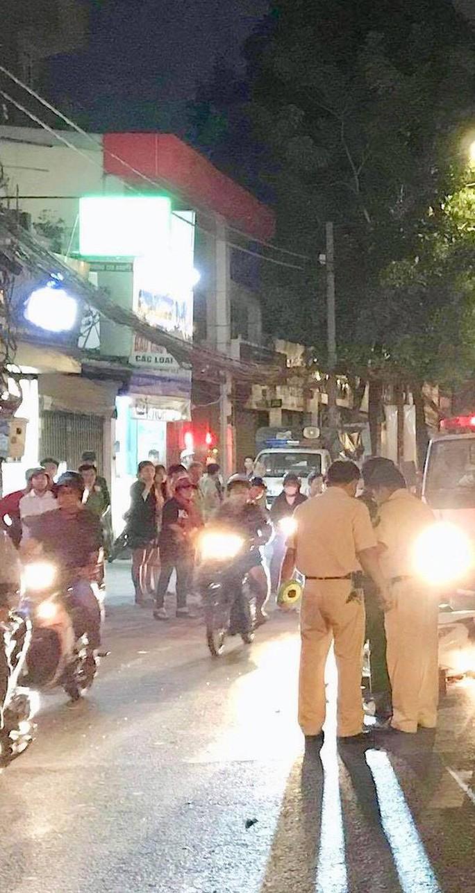Một người bị xe rác cán tử vong trên đường Quang Trung, quận Gò Vấp - Ảnh 1.