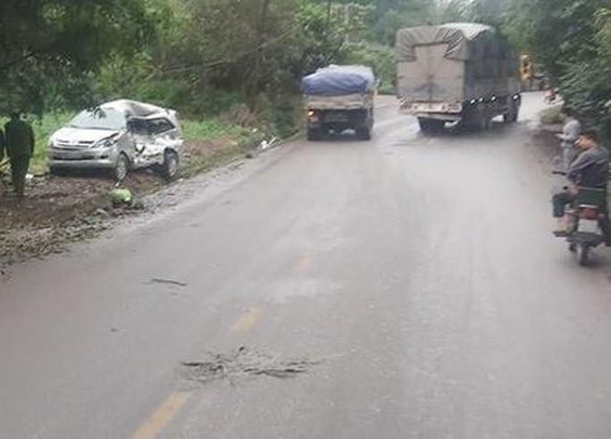 Tài xế xe tải dương tính ma túy gây tai nạn, 8 người thương vong - Ảnh 1.