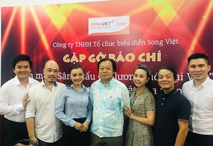"""Ra mắt """"Sân khấu cải lương mới Đại Việt"""" - Ảnh 1."""