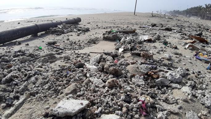 Hàng chục tấn rác bủa vây hơn 2 km bờ biển Đà Nẵng - Ảnh 6.