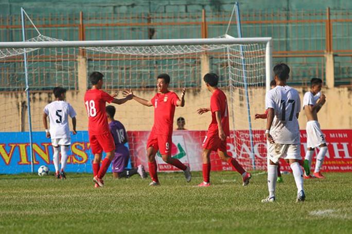 Lứa đàn em Quang Hải đàn áp, vượt trội U19 Thái Lan - Ảnh 3.