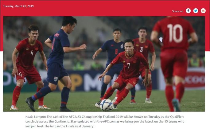 Thắng thuyết phục U23 Thái Lan, Việt Nam khiến châu Á ngưỡng mộ - Ảnh 4.