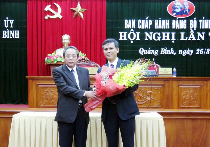 Quảng Bình có tân phó bí thư Thường trực Tỉnh ủy - Ảnh 1.