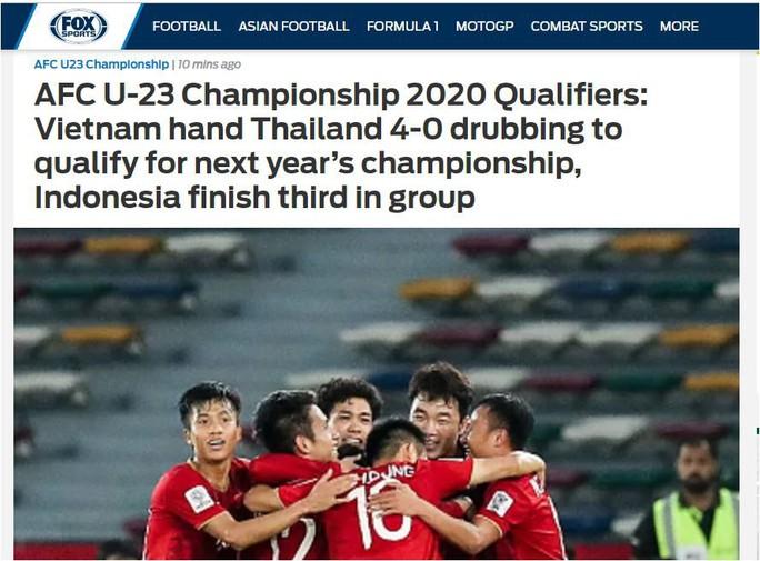 Thắng thuyết phục U23 Thái Lan, Việt Nam khiến châu Á ngưỡng mộ - Ảnh 3.