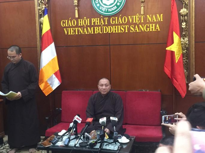 Thượng tọa Thích Thanh Quyết được giao giáo giới Đại đức Thích Trúc Thái Minh - Ảnh 4.