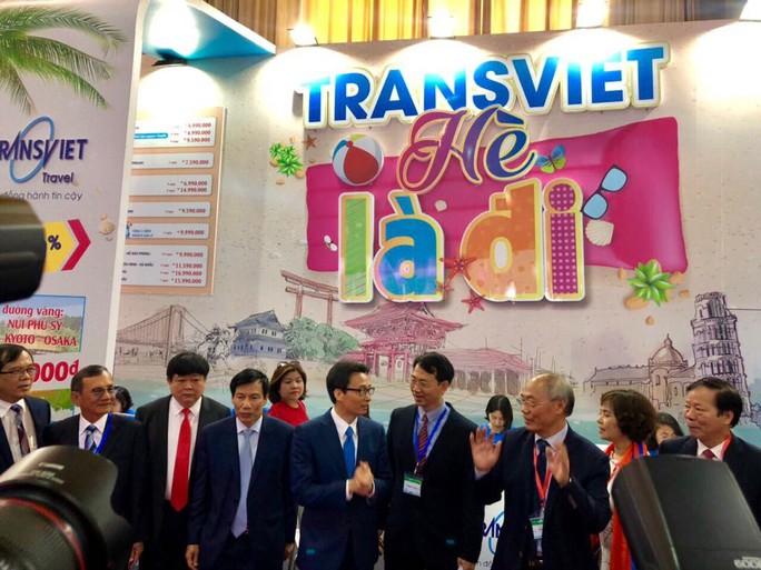 Phó Thủ tướng Vũ Đức Đam khai mạc Hội chợ Du lịch quốc tế VITM Hà Nội 2019 - Ảnh 6.