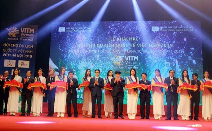 Phó Thủ tướng Vũ Đức Đam khai mạc Hội chợ Du lịch quốc tế VITM Hà Nội 2019 - Ảnh 1.
