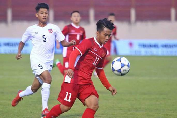 U19 Việt Nam tranh cúp với U19 Thái Lan - Ảnh 1.