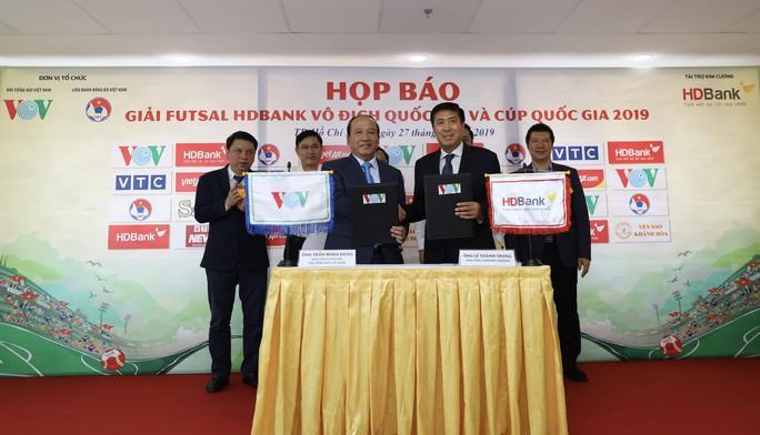 Công bố nhà tài trợ các giải futsal trọng điểm Việt Nam - Ảnh 1.