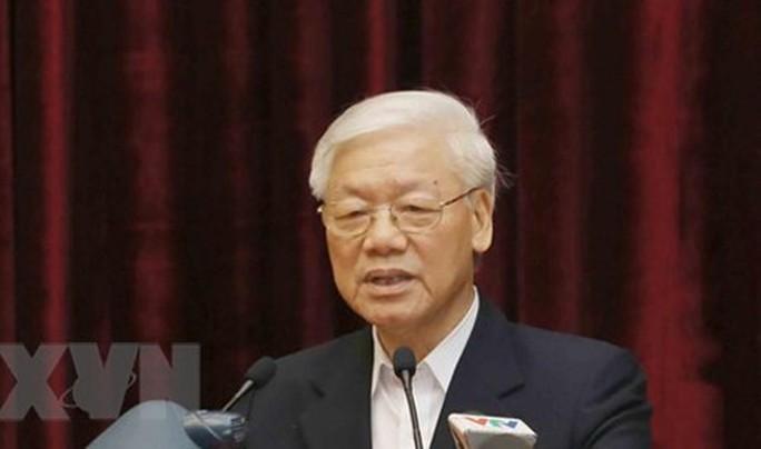 Tổng Bí thư, Chủ tịch nước lắng nghe, tiếp thu ý kiến của các cán bộ nguyên là lãnh đạo cấp cao - Ảnh 1.
