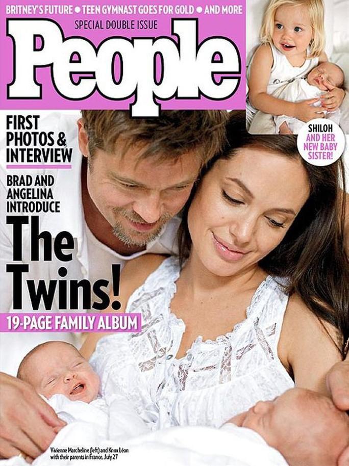 Giá sốc với những bức ảnh gia đình Angelina Jolie và Brad Pitt - Ảnh 3.