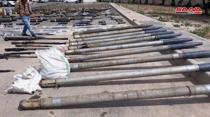 Syria phát hiện vũ khí của Mỹ tại nơi khủng bố ẩn nấp - Ảnh 3.
