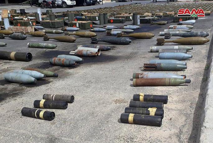 Syria phát hiện vũ khí của Mỹ tại nơi khủng bố ẩn nấp - Ảnh 4.