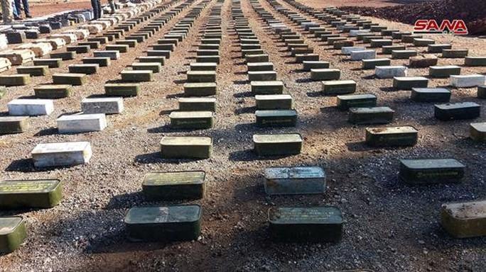 Syria phát hiện vũ khí của Mỹ tại nơi khủng bố ẩn nấp - Ảnh 6.