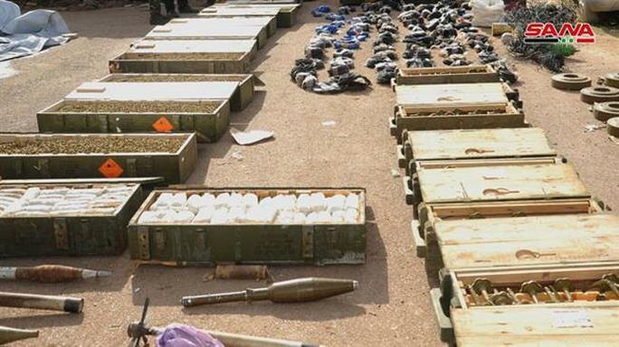 Syria phát hiện vũ khí của Mỹ tại nơi khủng bố ẩn nấp - Ảnh 7.