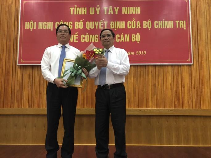 Ông Phạm Viết Thanh nhậm chức Bí thư Tỉnh ủy Tây Ninh - Ảnh 1.
