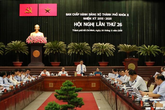 Hội nghị Ban Chấp hành Đảng bộ TP HCM bàn nhiều vấn đề quan trọng - Ảnh 1.