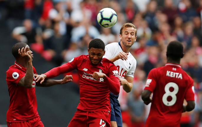 Harry Kane đe dọa hàng thủ Liverpool - Ảnh 1.