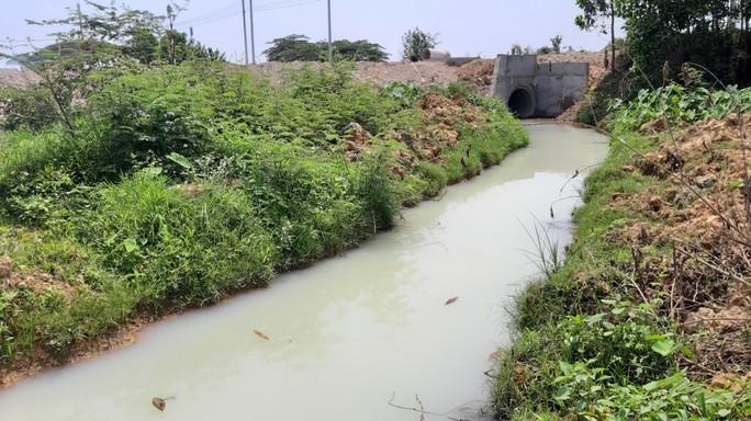 Vụ nước thải tuôn ra kênh ở Đà Nẵng: Đề xuất xử lý 2 công ty xả thải - Ảnh 1.