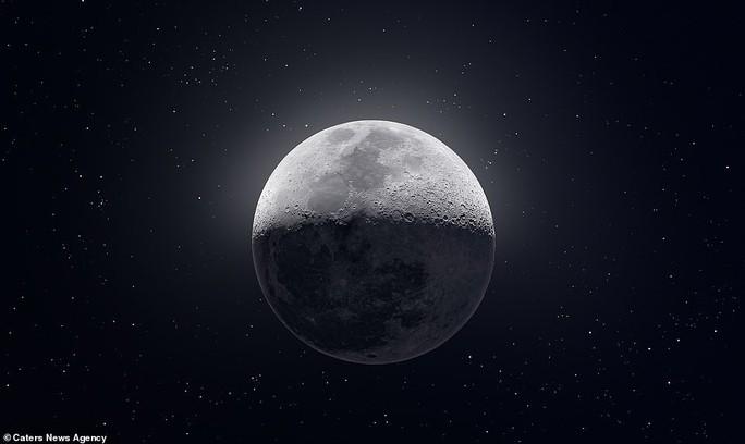 Bí ẩn dấu ấn tối và xoáy ánh sáng trên mặt trăng - Ảnh 2.