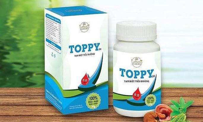 Thêm sản phẩm thảo dược Toppy hỗ trợ bệnh tiểu đường bị thu hồi - Ảnh 1.