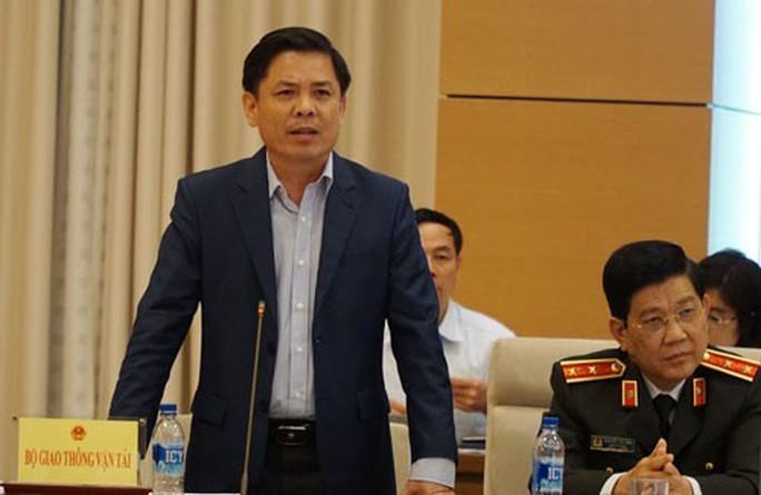 Bộ trưởng GTVT Nguyễn Văn Thể: Mất bằng lái xe phải thi lại - Ảnh 1.