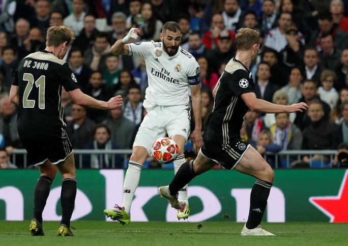 Địa chấn Champions League: Real Madrid thua muối mặt Ajax - Ảnh 3.